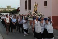 Inmaculada Fernández, pregonera en el barrio de los Pescadores