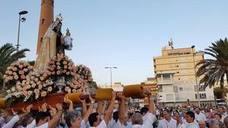 Adra rinde honores a la Virgen del Carmen en su festividad