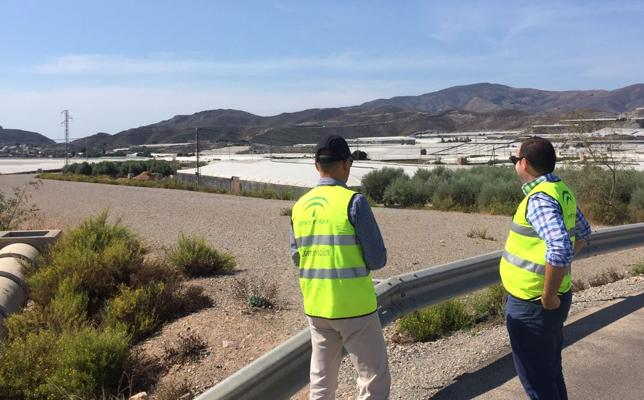 La Junta reinicia los trabajos del tramo oeste de la variante sur de Berja