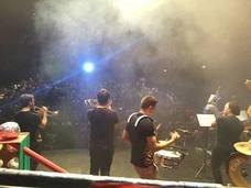 Los 'profes' de la Escuela de Música se suben al escenario