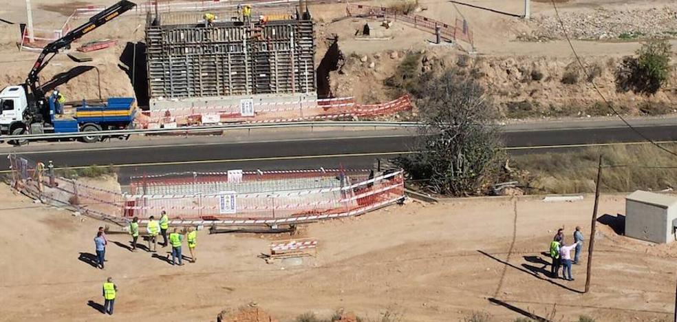 Fomento inicia la construcción del paso elevado entre Berja y Dalías con la carretera abierta al tráfico