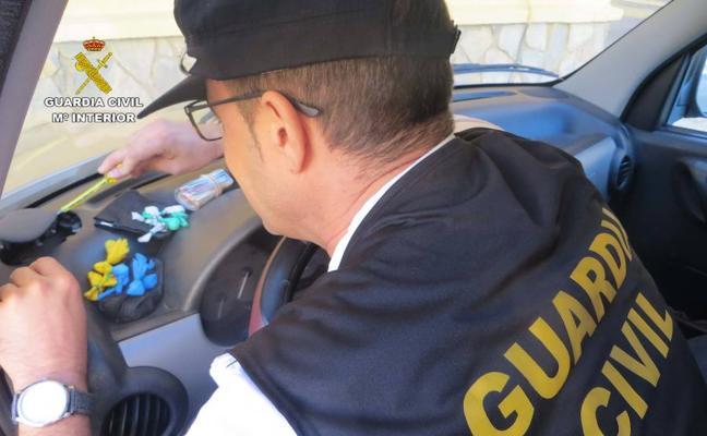 Detenido por vender cocaína en zonas de ocio de Adra