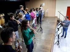 La Escuela de Música de Berja suspende sus clases para celebrar Santa Cecilia en familia