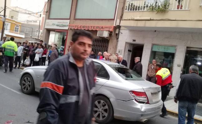 Dos heridos en un accidente de tráfico en Natalio Rivas