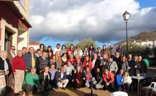 El PSOE arropa a los socialistas de Fondón en la celebración de su 80 aniversario