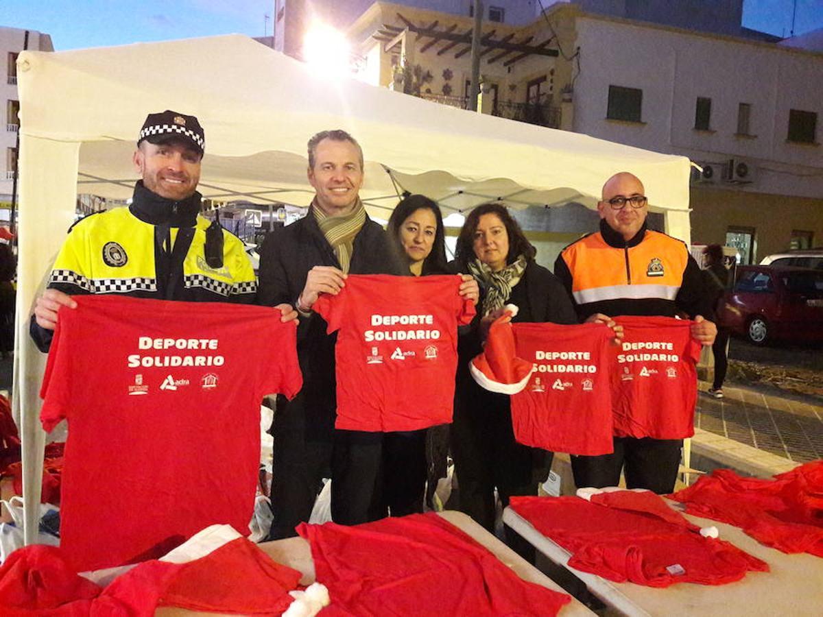 'Deporte Solidario' en La Carrera de Adra