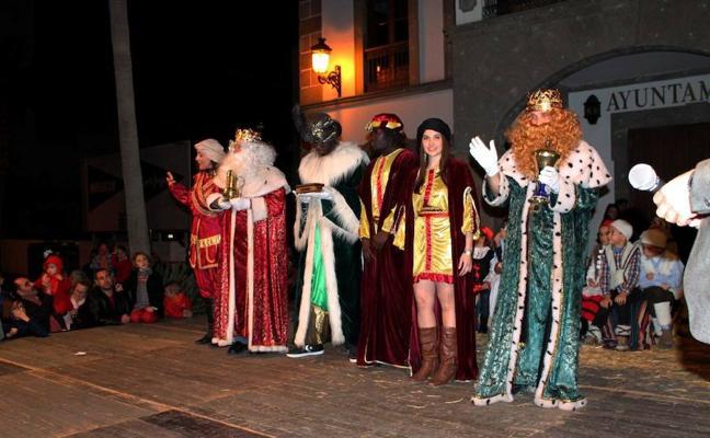 Adra se prepara para recibir la llegada de los Reyes Magos