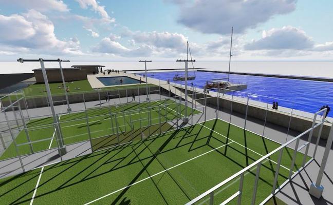 El Club Náutico negocia la concesión de 3.000 metros cuadrados del puerto deportivo