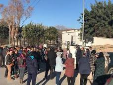 Cacerolas en Berja para pedir un comedor escolar en condiciones