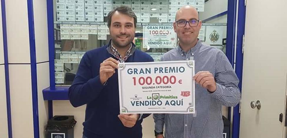 Un abderitano consigue un premio de 100.000 euros