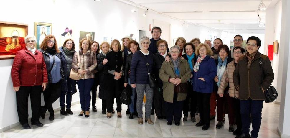 Abderitanas con Arte, en el Centro Cultural de Adra