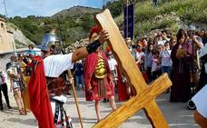 Laujar de Andarax ultima los detalles para representar mañana el Vía Crucis Viviente