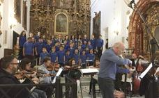 El coro Pedro de Mena, protagonista en el último trabajo del maestro Michael Thomas