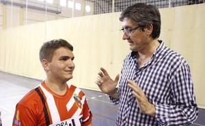 Daniel Aguilar, en el Campeonato de España de Atletismo Adaptado