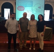 Presencia alcalaína en la reunión anual de la Red Española de Ciudades de los Niños