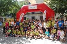Alta participación en el I Trofeo de Orientación Fortaleza de la Mota