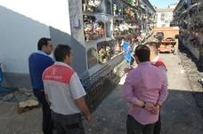 El Ayuntamiento invierte más de 200.000 euros en la mejora de los cementerios de Alcalá y aldeas