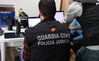 Dos detenidos y ocho investigados de un presunto grupo criminal que cometió un robo en Alcalá la Real