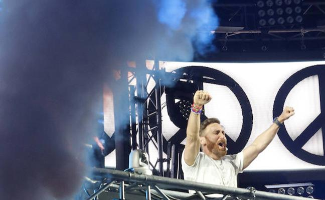 David Guetta enloquece el Dreambeach