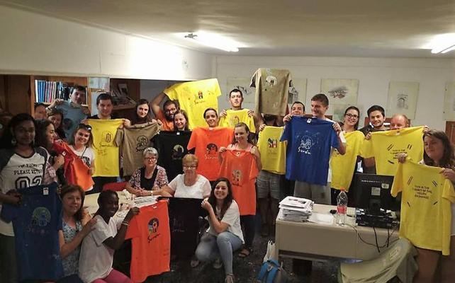 Gran acogida del proyecto de Intercambio Juvenil en Serón