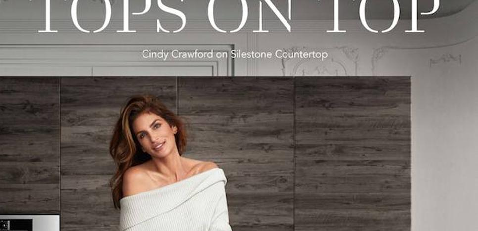 La supermodelo Cindy Crawford y el cocinero David Muñoz protagonistas de Silestone Tops on Top