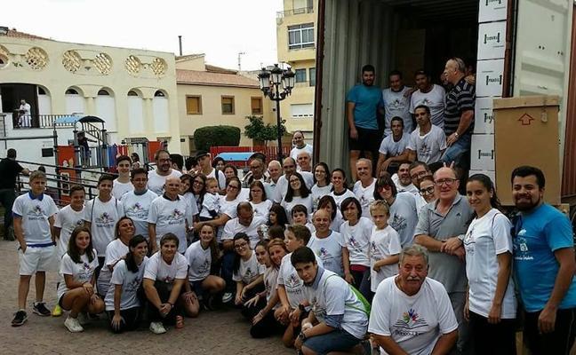 El 'Banco de libros de Tíjola' envió 20 toneladas de libros a los niños de Honduras