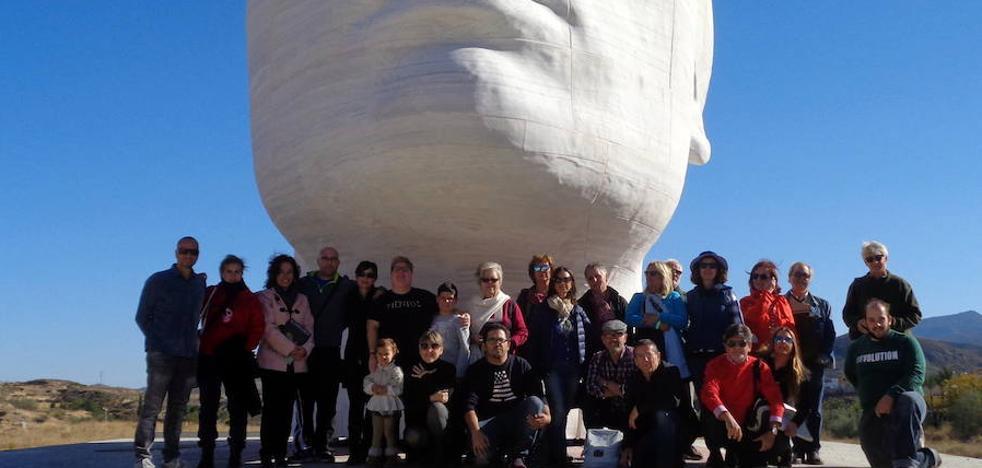 La Agrupación de Acuarelistas de Andalucía 'Pintaron el museo' Casa Ibáñez de Olula del Río