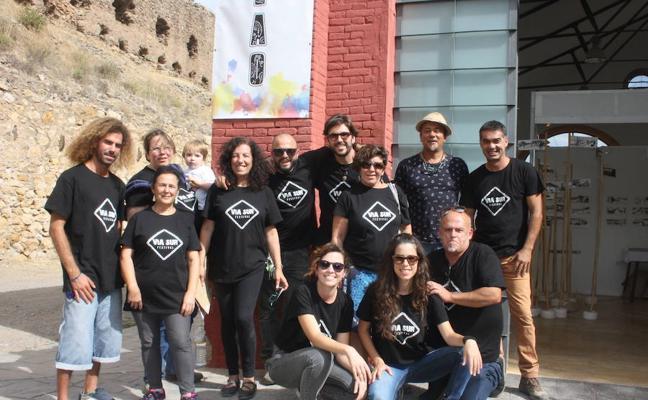 Encuentro Cultural 'La Plaza en Paz 2017' en Serón organizado por la Asociación Casa nº 7