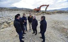 Diputación construye un nuevo depósito en el Cerro del Charcón en Macael