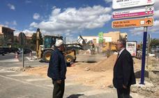 Comienzan las obras de la nueva rotonda en La Venta de Albox