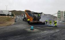 Las obras de mejora en el Polígono Industrial de Arboleas avanzan a buen ritmo