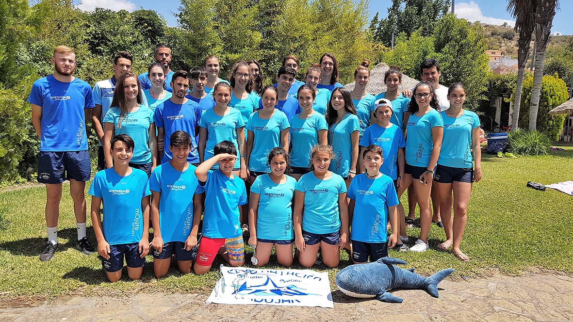 El Club Natación Andújar consigue 50 medallas en la primera prueba del Circuito Provincial