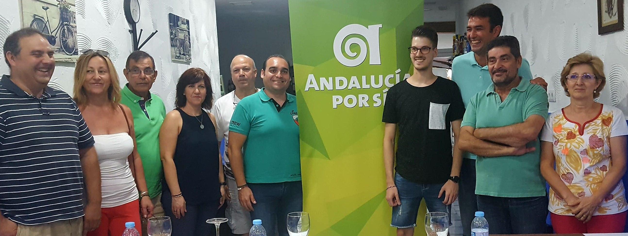 Andalucía por Sí forma una gestora en Andújar con la primera idea de implantarse