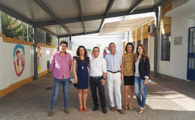La Junta finaliza las obras de climatización en dos colegios de Andújar