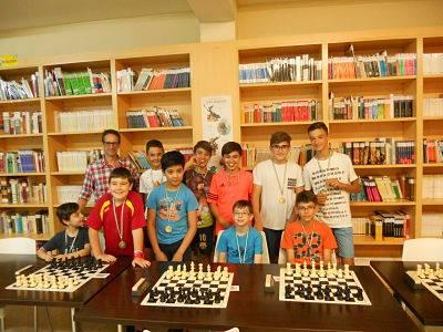 Amplia participación en el IV Torneo Club de Ajedrez Jándula