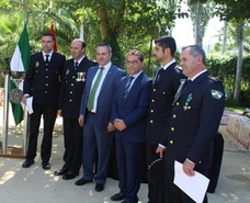 La Policía Local muestra su labor con la ciudadanía en los fastos de su patrón