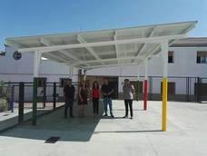 La Consejería de Educación realiza obras de climatización en el colegio Santa Clara de Lahiguera