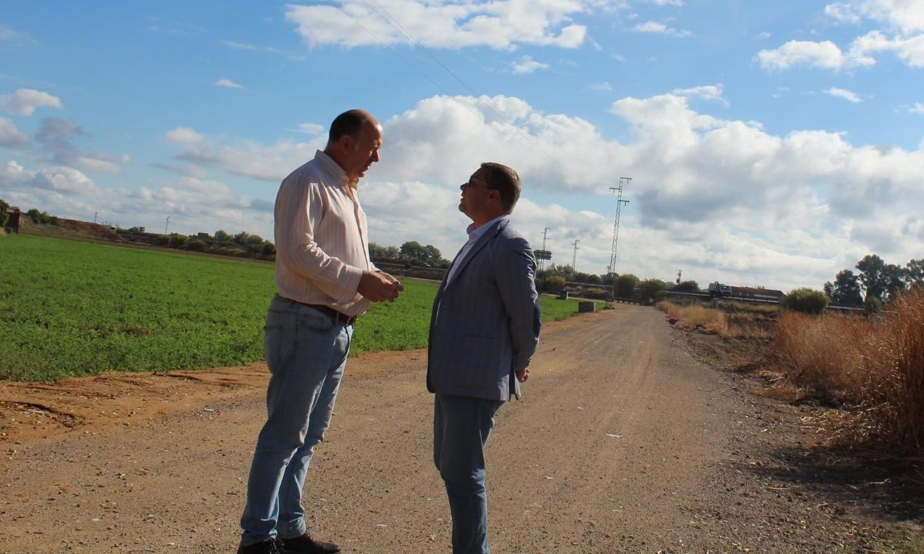 Arrancan los trabajos previos a la creación del cinturón verde