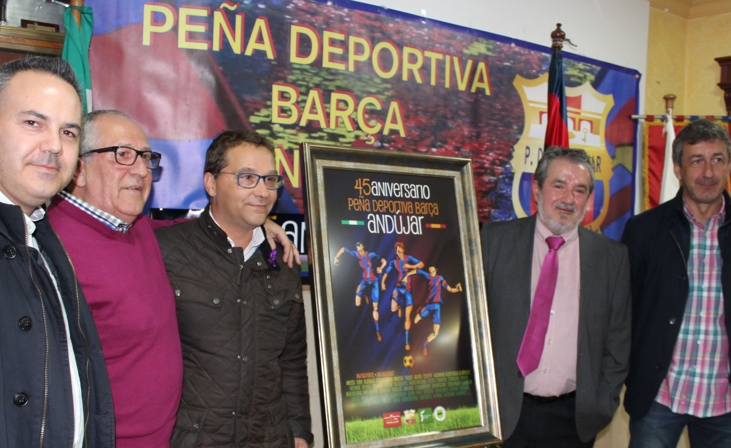 La peña deportiva Barça de Andújar celebra su 45 aniversario