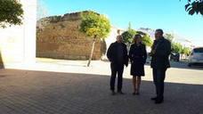 La delegada del Gobierno realiza una visita institucional al municipio de Lahiguera