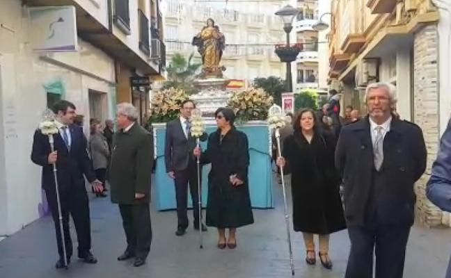 La Inmaculada sale a las calles de Andújar