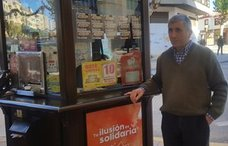 Un vendedor de la ONCE recupera sus cupones caídos gracias al apoyo ciudadano