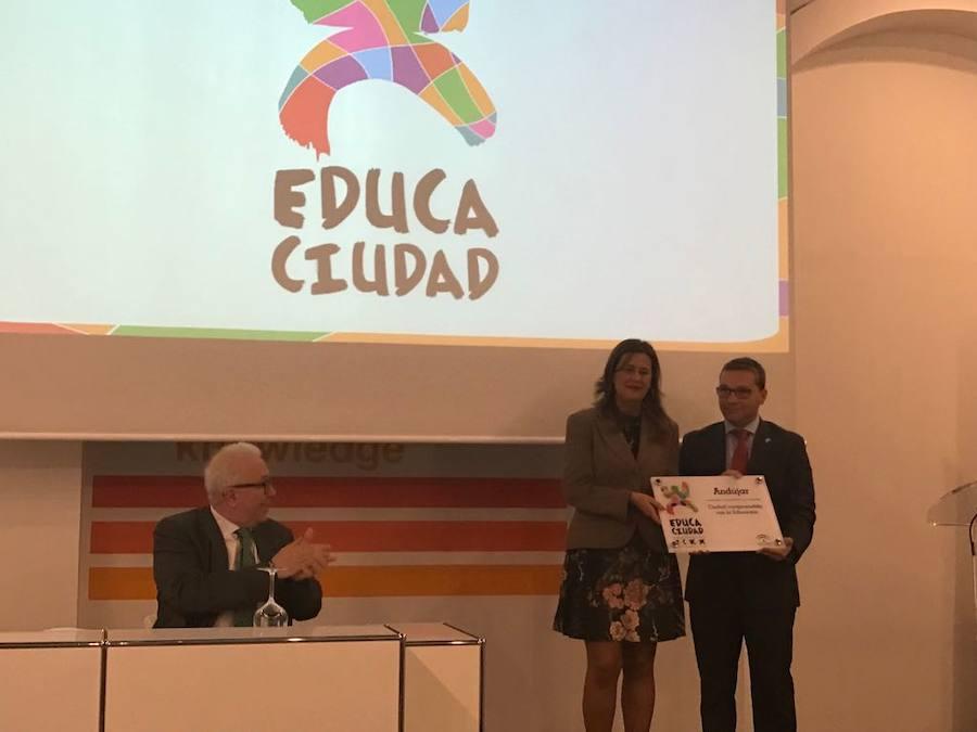 Andújar es distinguida con los Premios Educaciudad junto con 10 municipios andaluces