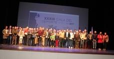 La XXXIII Gala del Deporte vuelve a distinguir a leyendas nacionales y deportistas locales, provinciales y andaluces