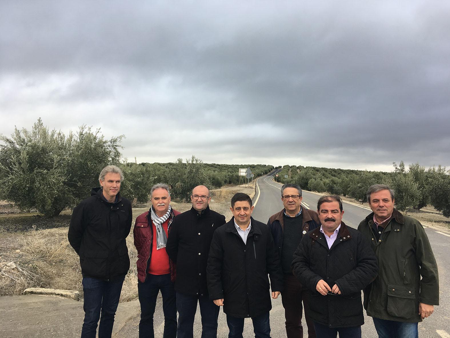Diputación culmina la mejora de la vía entre Pilar de Moya e Higuera de Calatrava