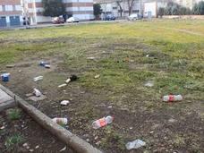 El colectivo vecinal San José Obrero reclama más cuidado de las zonas verdes del Polígono