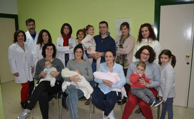 Certificado internacional para el centro de salud Virgen de la Cabeza por fomentar la lactancia materna
