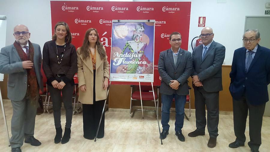 María José Mena realiza el cartel de Andújar Flamenca 2018