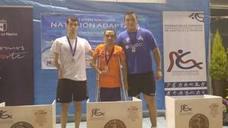 Miguel Ángel Martínez Tajuelo gana dos oros en el Open Nacional de Natación Adaptada de Castilla La Mancha