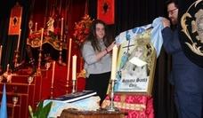 La alumna de 3º de ESO, Lorena Viñas, es la autora del cartel de la XI Semana Santa Chica de la SAFA